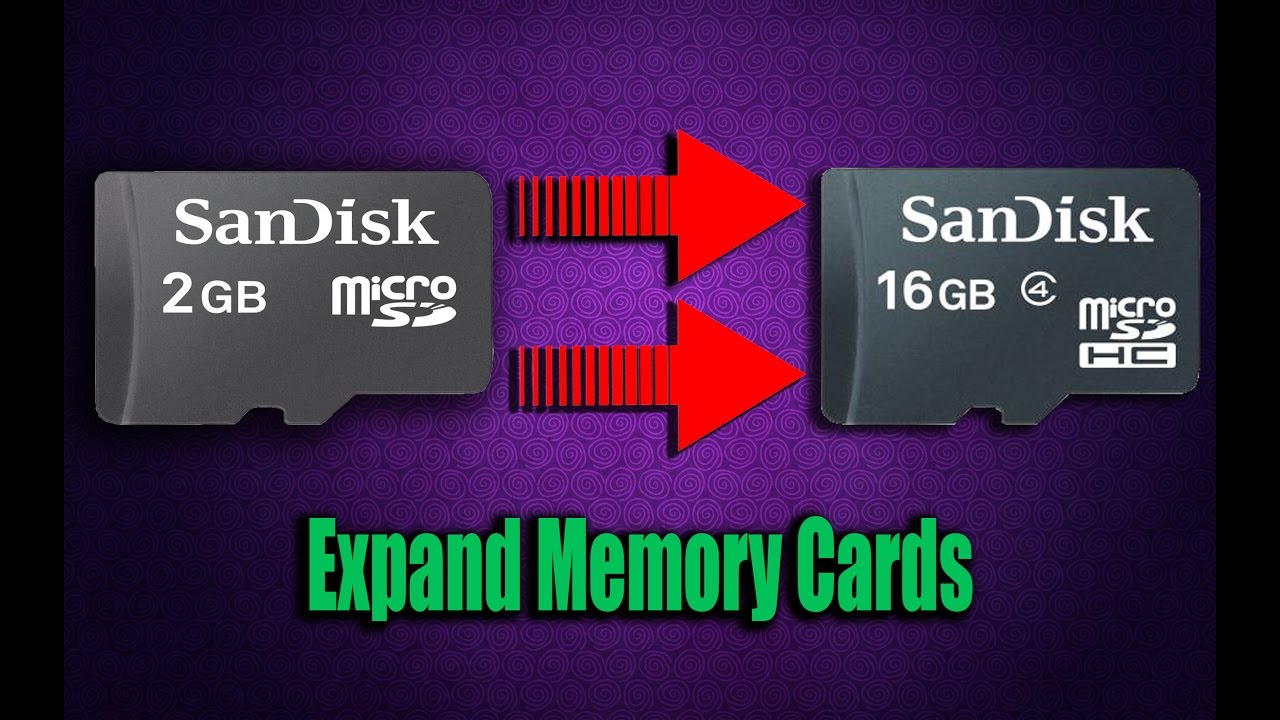 How To Increase Memory Card Size Upto 16gb