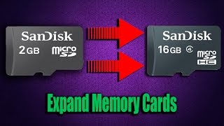 how to increase memory card size upto 16gb | E-compression technology