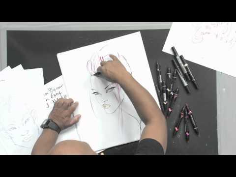 NEW Brush|Fine Art Marker Tutorial with Steven Broadway