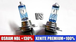 Стоит ли покупать дорогой галоген? Тест ламп XENITE +100% vs OSRAM NIGHTBREAKER +130%