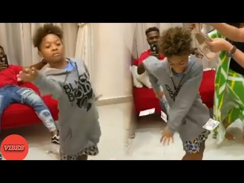 Download Like Father Like Son! Peter Psquare Son Dances Better Than His Dad
