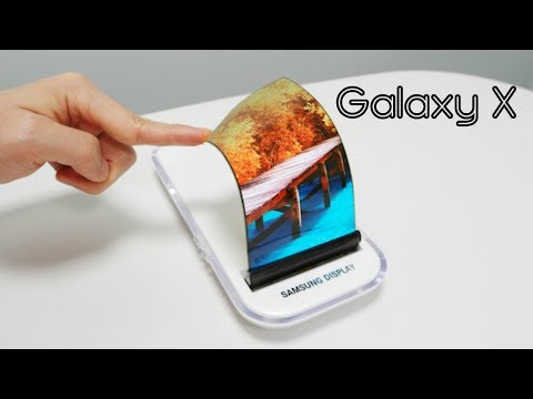 Samsung Galaxy X foldable phone preview