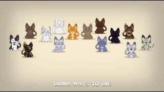 dumb ways to die - warrior cats - reaction