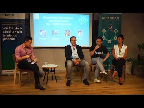 Kenetic x Caspian HK Roadshow – Panel 2 – How exchanges institutionalise the Crypto Industry