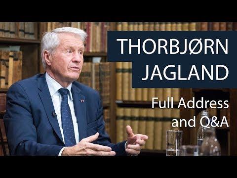 Thorbjørn Jagland | Full Address and Q&A | Oxford Union