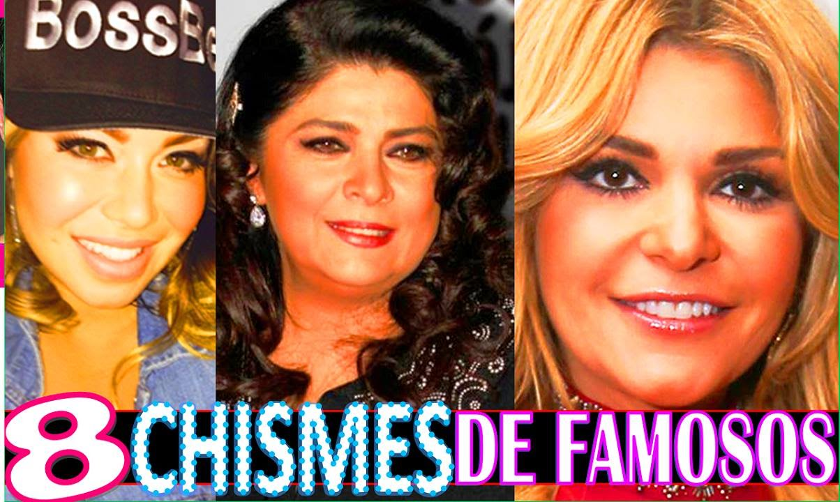 8 chismes de famosos noticias breves imperdibles youtube for Chismes dela farandula argentina 2016