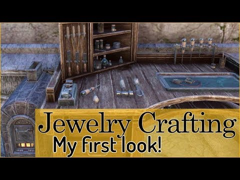 My first time checking out JEWELRY CRAFTING 😁 - Elder Scrolls Online: Summerset (PTS) |