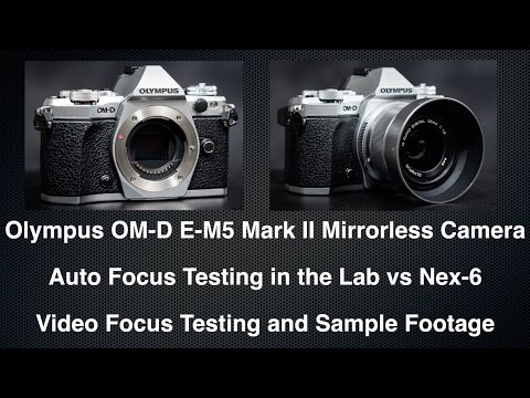 OM-D EM-5 Mark II - Auto Focus Testing in Lab and Video!