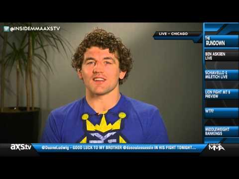 I Don't Really Care Being Called Lay & Pray - Ben Askren