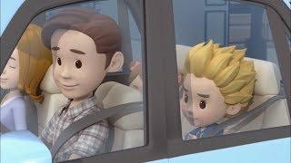 Робокар Поли - Правила дорожного движения - Папин рассказ о машинах (мультфильм 21)