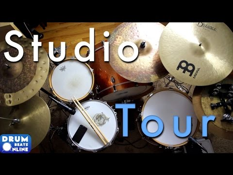 Studio Tour! - Drum Beats Online