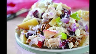 How to Fight Inflammation with BEST Healthy Chicken Salad Recipe for Arthritis Diet
