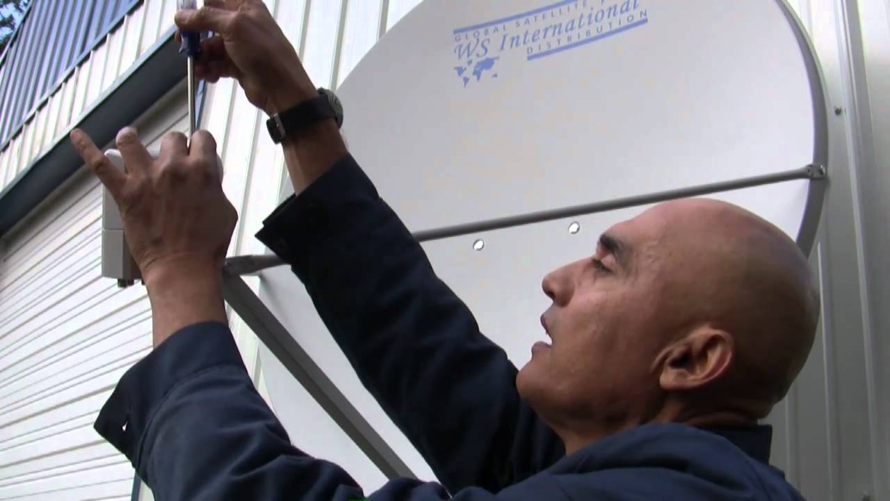 How To Replace An Lnb Installing And Replacing On A Fta Dish Cable Wiring Diagrams Youtube