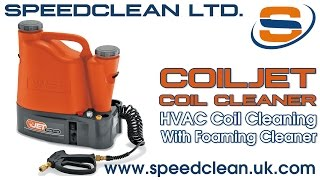 SpeedClean CoilJet Portable Coil Cleaning System with Foaming Coil Cleaner