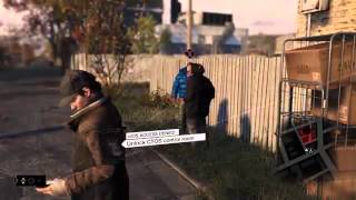 PS4   Watch Dogs Gameplay Demo 14 Minutes