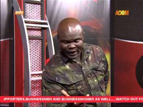 Bukom Banku face Fireman in Studio