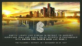 Pretty Lights Live @ The Fillmore - Detroit, MI 12/29/2017