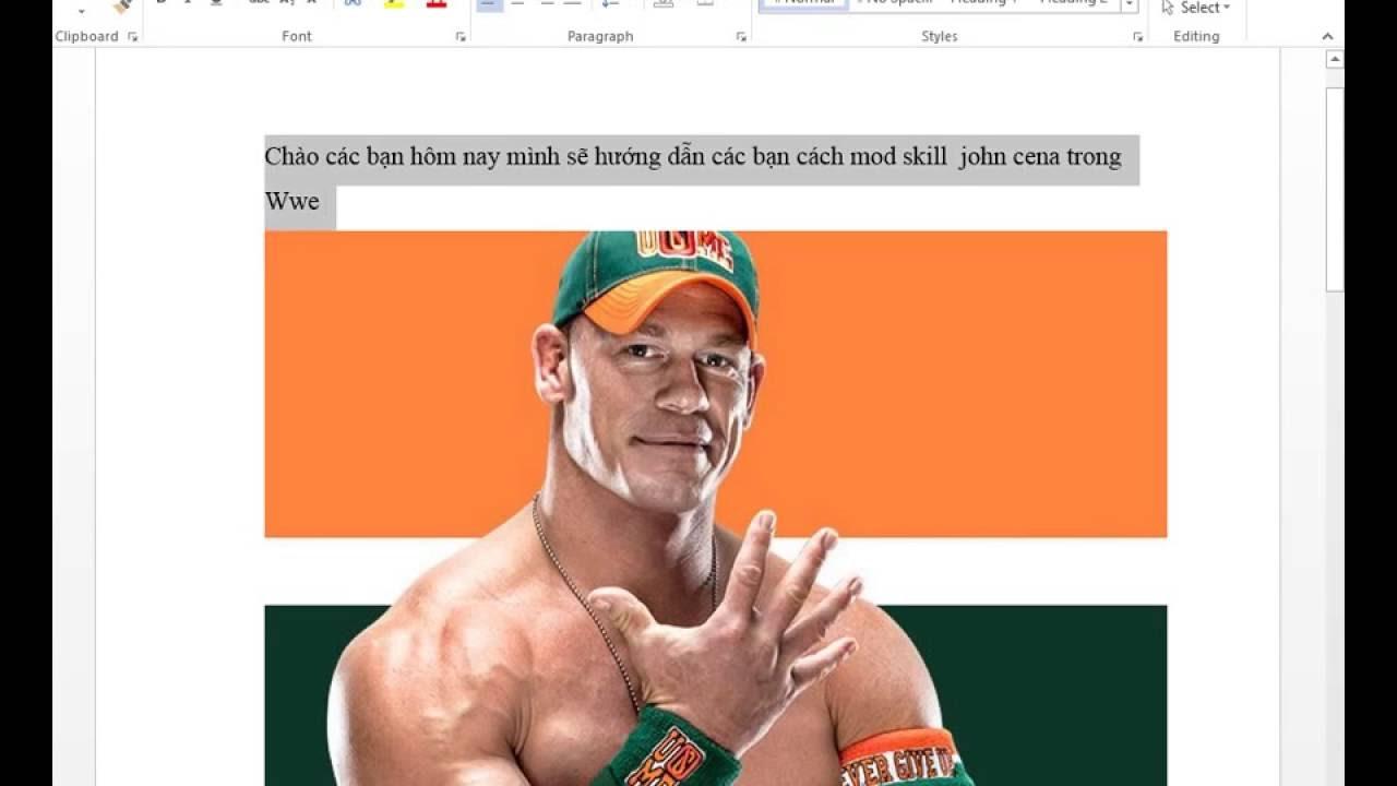 Gta5 Mod #1 Hướng dẫn Mod skill John Cena WWE