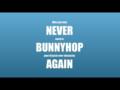 Why you may never need to bunnyhop your bike again!