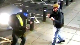 Mugger Doesn't Know What's Coming When Victim Fights Back