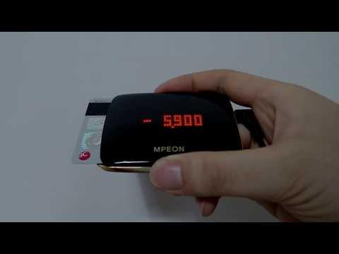 엠피온 SET-430+ 하이패스 사용 영상