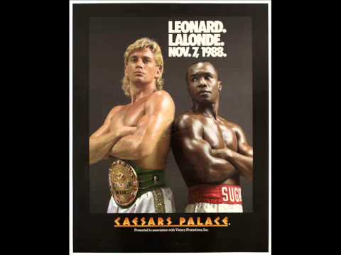 Donny Lalonde talks about being a champ and Sugar Ray Leonard