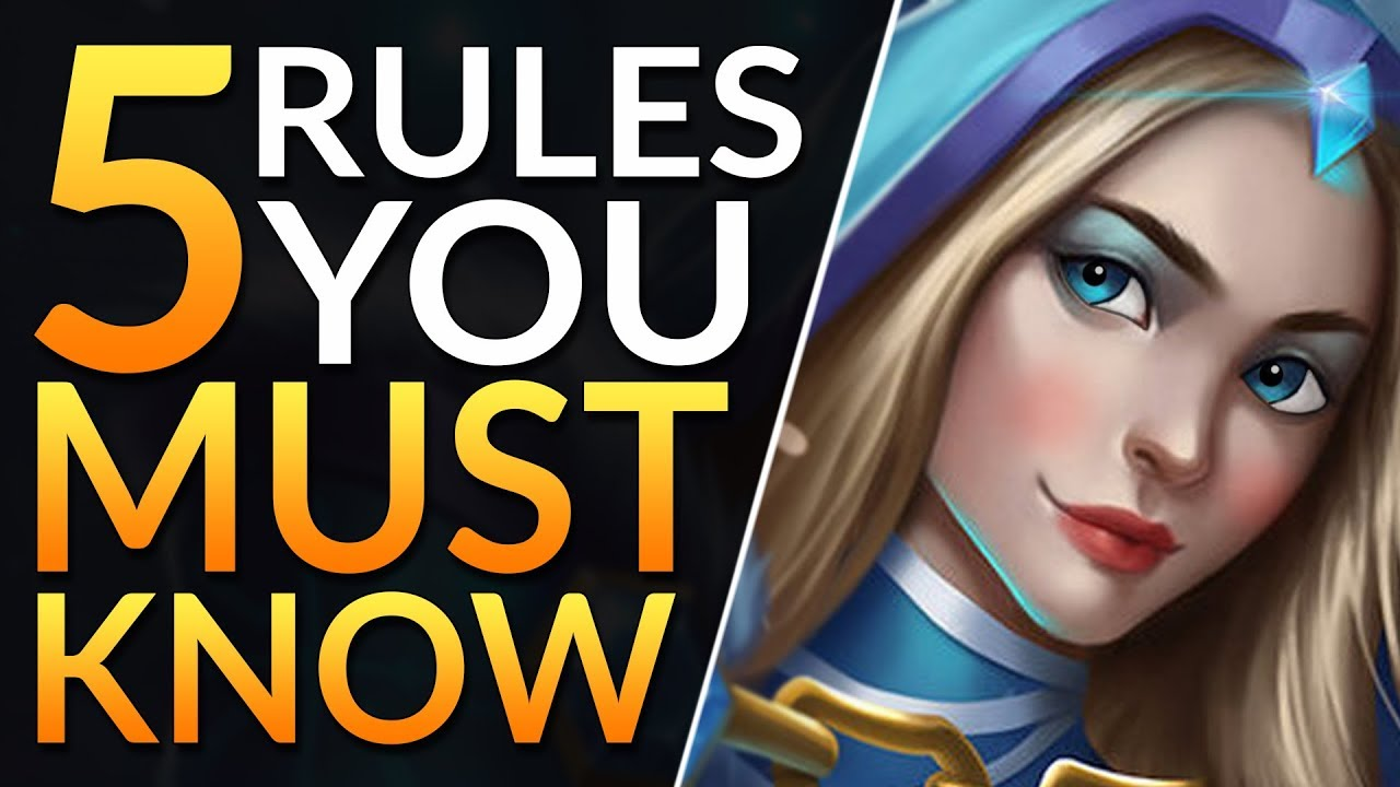 The 5 RULES ALL SUPPORTS MUST KNOW to RANK UP – Best Tips and Tricks | Dota 2 Pro Guide (Immortal)
