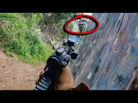 SHOT AT POINT BLANK // Paintball Gameplay //MCS 468 PTR