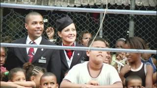 British Airways Flying Start Charity in Brazil