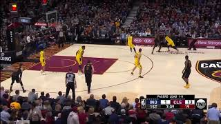 LeBron James Leads Cavs to Game 2 Win over Pacers with 46 Points thumbnail