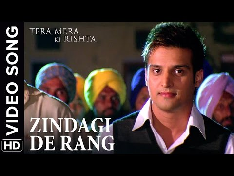 🎼 Zindagi De Rang Video Song | Tera Mera Ki Rishta Punjabi Movie 🎼