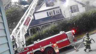 Fire Clark Ave Chelsea Ma