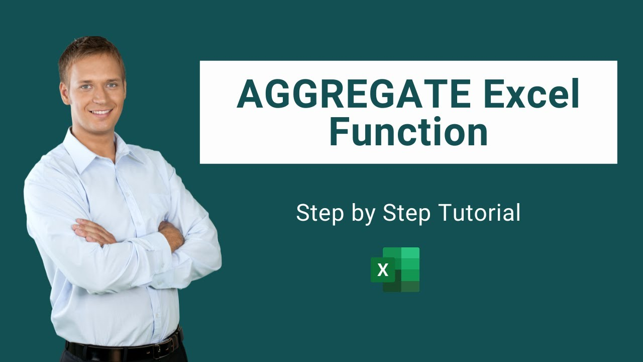 Aggregate Excel Function   How to Use Step by Step