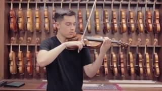 Wojciech Topa, Zakopane 2017 Violin Demonstration by Michael Romans