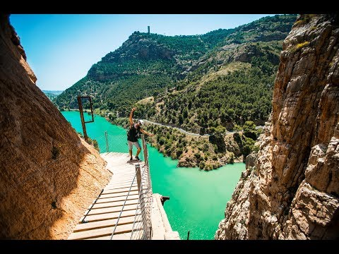 The World's Most Dangerous Hike - El Caminito Del Rey