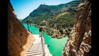 The World's Most Dangerous Hike - El Caminito Del Rey