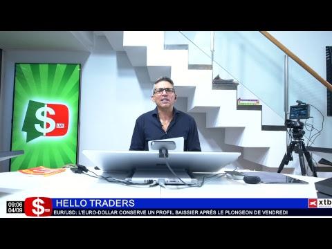 Hello Traders Emission du 04/09/18