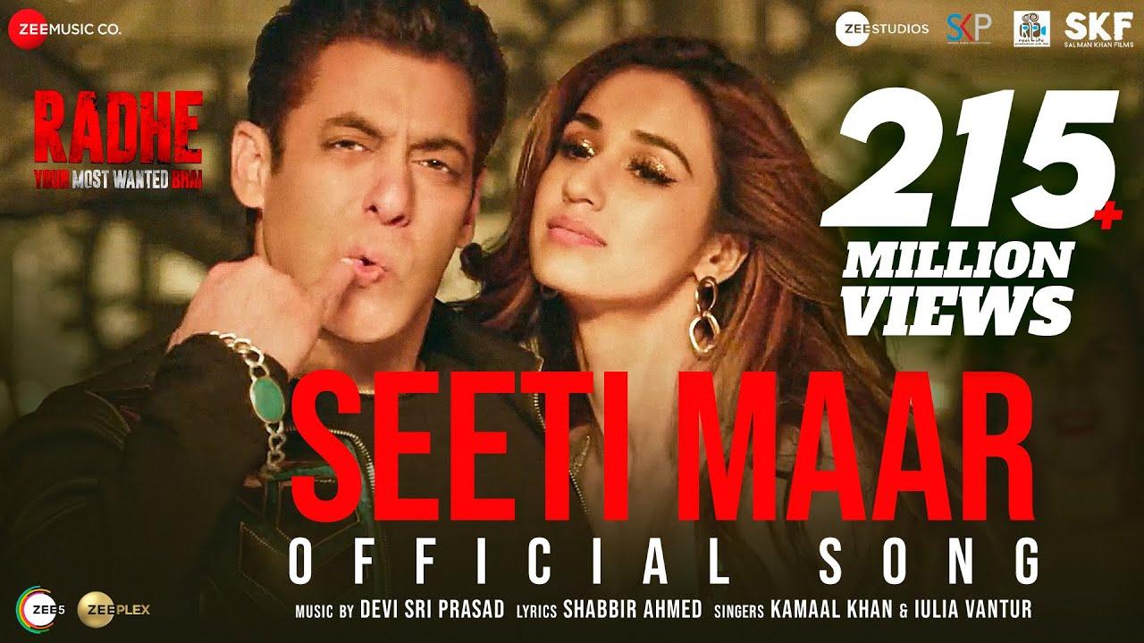 Download Seeti Maar | Radhe - Your Most Wanted Bhai | Salman Khan, Disha Patani|Kamaal K, Iulia V|DSP|Shabbir