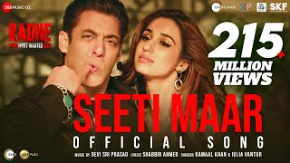 Seeti Maar | Radhe - Your Most Wanted Bhai | Salman Khan, Disha Patani|Kamaal K, Iulia V|DSP|Shabbir