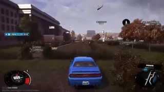 The Crew gameplay -  Pentagon & Dodge Challenger SRT