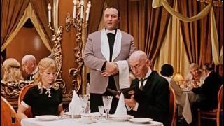 """Однако - телячья котлета 2.25. Филе - 2.25. Водка - однако! Ресторанная наценка-с! """"12 стульев"""""""