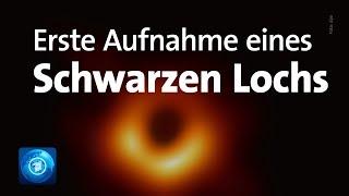 Forscher zeigen erstes Bild von Schwarzem Loch