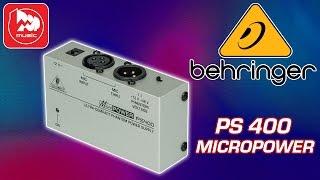 Блок фантомного питания BEHRINGER PS 400 MICROPOWER (как писать вокал со встроенной звуковой картой)