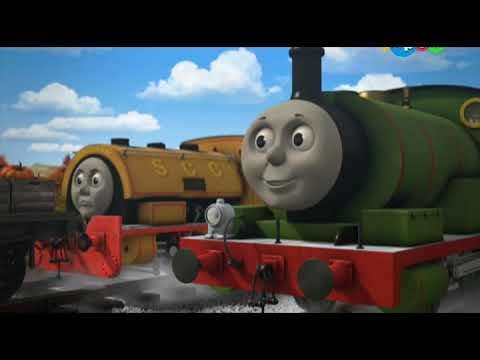 Томас и его друзья 17 сезон серия 14  Удачный день Перси