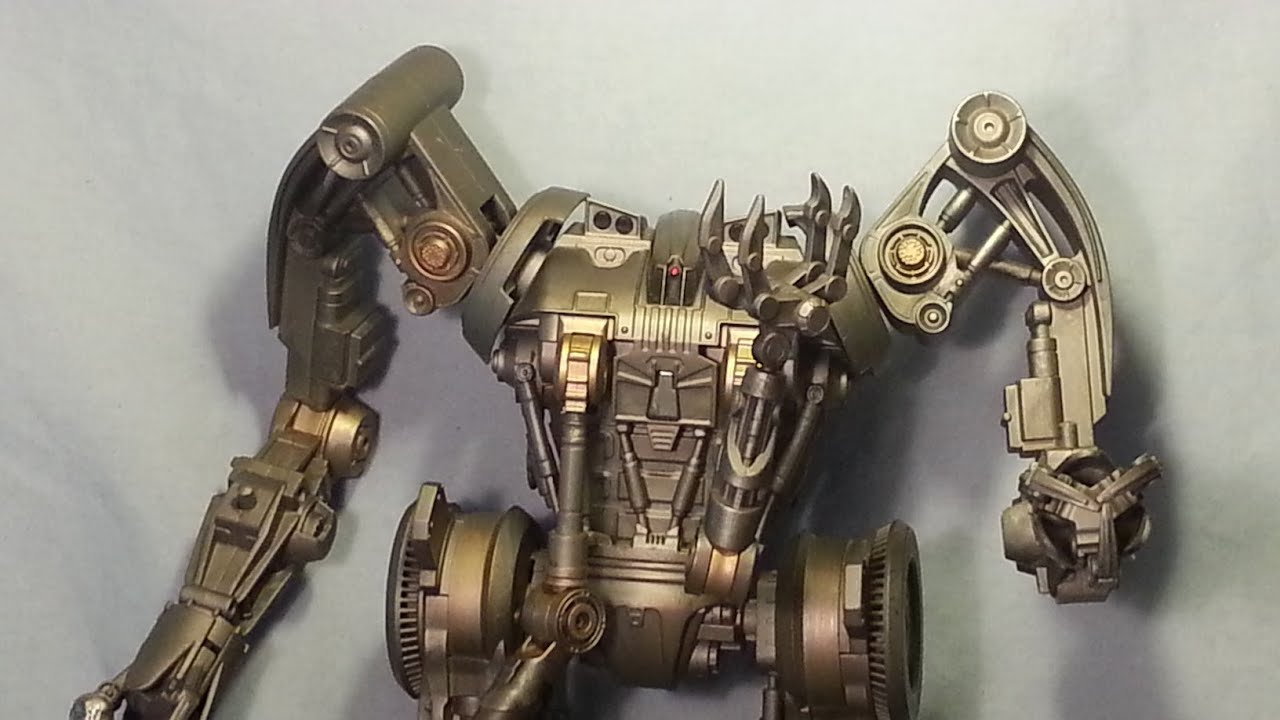 Figure Review - Terminator Salvation Harvester - YouTube