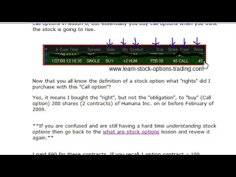 Understanding Stock Options - An Example of How to Double Your Money in 15 Days