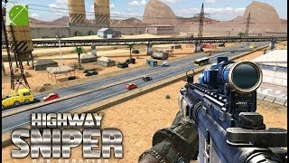 Highway Sniper Shooting Survival Game - Android Gameplay FHD