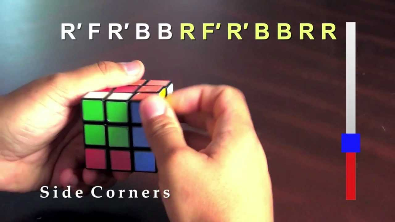 5 SIMPLE moves to EASILY solve the Rubiks Cube Learn in