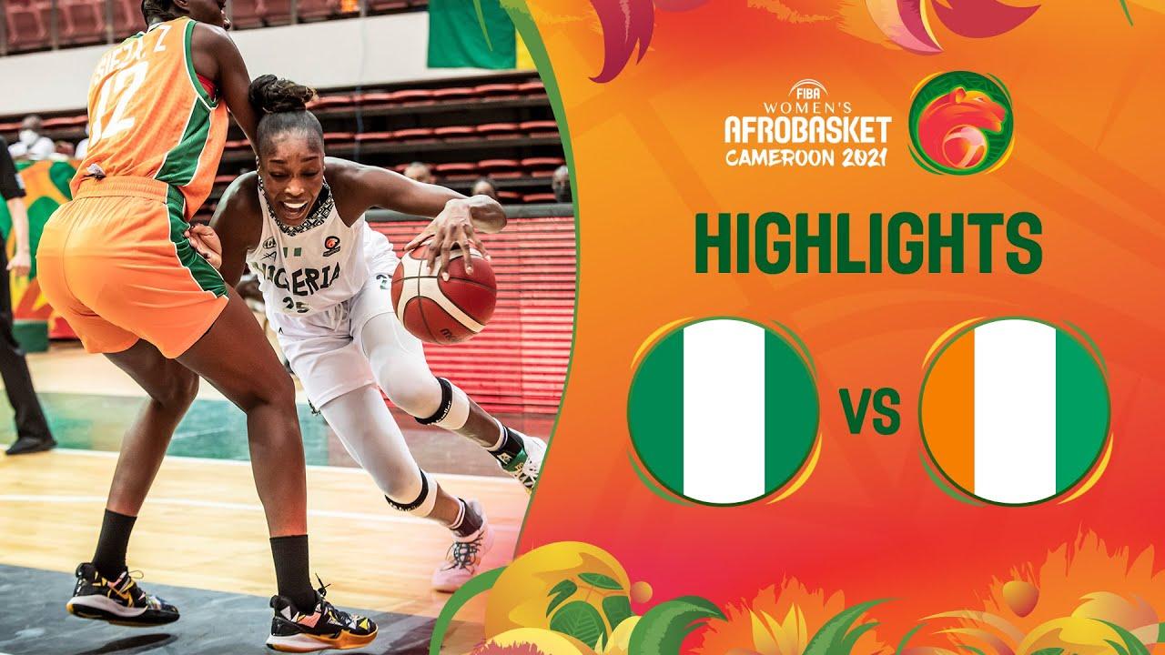 Download Nigeria - Cote d'Ivoire | Game Highlights - FIBA Women's AfroBasket 2021