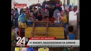 24 Oras Exclusive: 41 bakwit, nagsisiksikan sa garahe